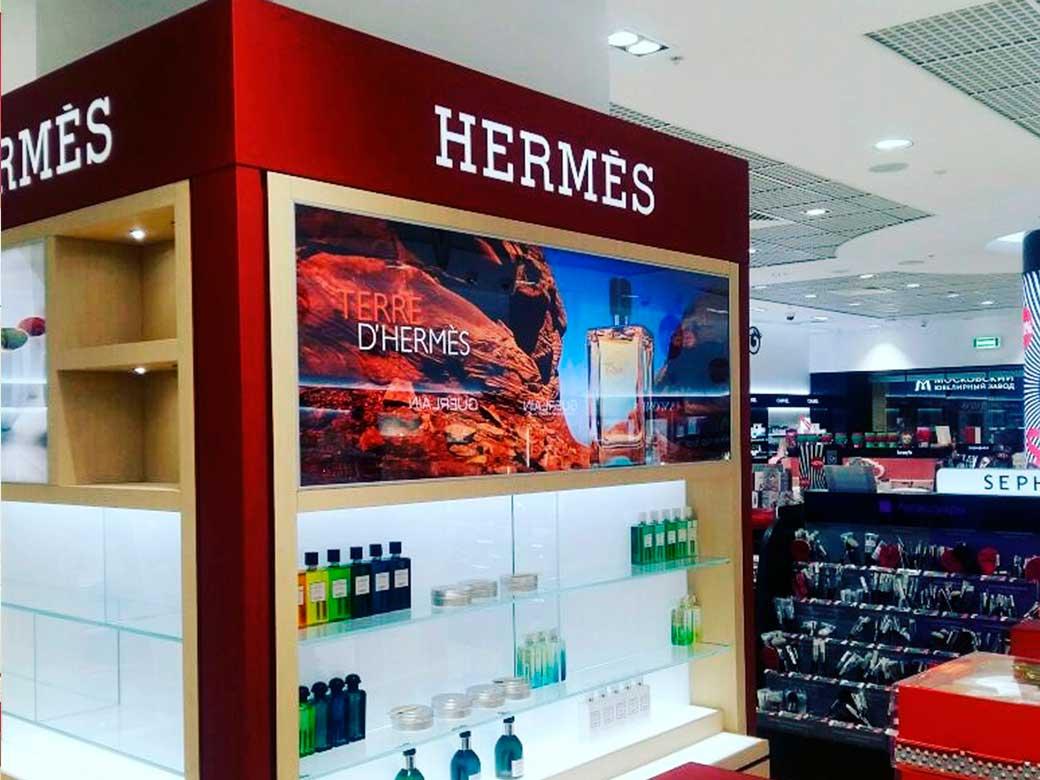 Hermes, ТЦ Смоленский пассаж, г. Москва