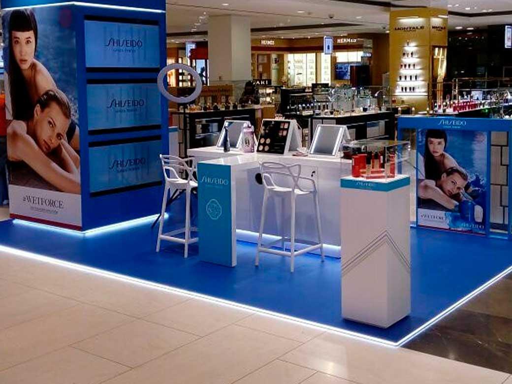 Shiseido, ЦУМ, г.Москва