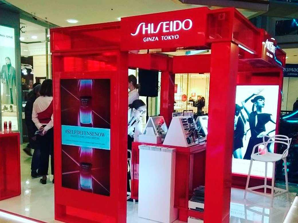 Shiseido, Метрополис, г.Москвва