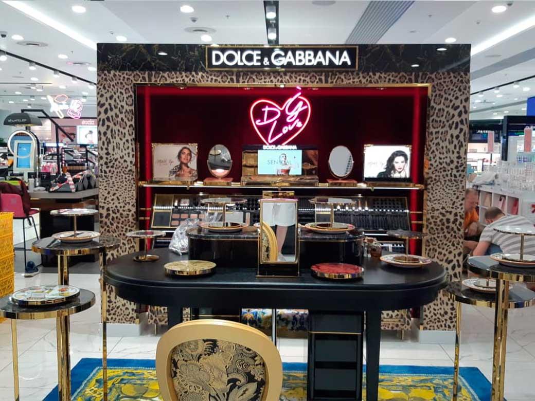 Dolce & Gabbana, ТЦ. Европейский, г.Москва